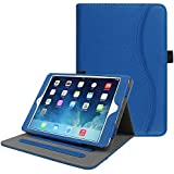 Fintie iPad Mini/Mini 2 / Mini 3 Case [Corner Protection] - [Multi-Angle Viewing] Folio Smart Stand Protective Cover w/Pocket, Auto Sleep/Wake for Apple iPad Mini 1 / Mini 2 / Mini 3, Royal Blue