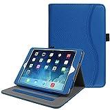 Fintie iPad Mini/Mini 2/Mini 3 Case [Corner Protection] - [Multi-Angle Viewing] Folio Smart Stand Protective Cover w/Pocket, Auto Sleep/Wake for Apple iPad Mini 1/Mini 2/Mini 3, Royal Blue
