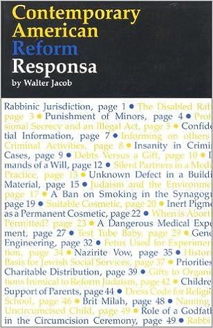 Essays and Responsa
