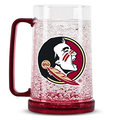 NCAA Florida State Seminoles 16oz Crystal Freezer Mug ()