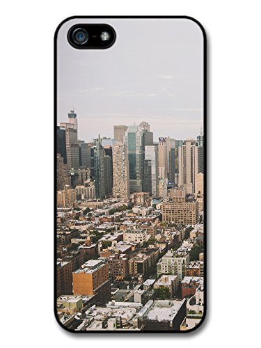 Old Retro Picture of City Urban Suburbs Skyline Photgraphy case for iPhone 5 5S