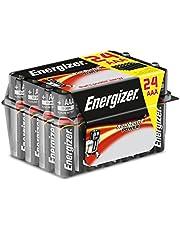 Ahorra en Energizer E92 - Pack de 24 Pilas alcalinas AAA, Color Negro y más