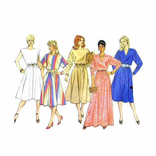 Uncut Vintage Butterick Pattern Dress - 2