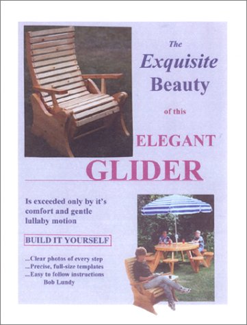 The Exquisite Beauty of This Elegant Glider Is Exceeded Only By It's Comfort and Gentle Lullaby Motion