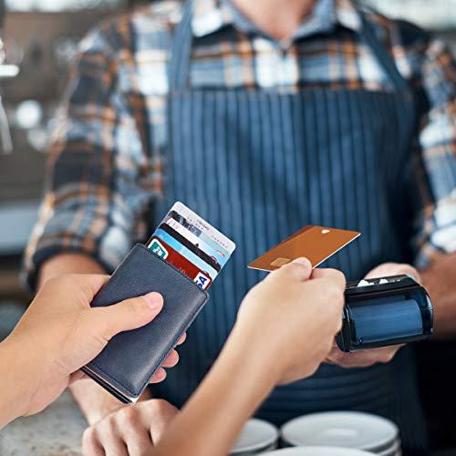 Kreditkartenetui Secarier Echtleder Kartenetui