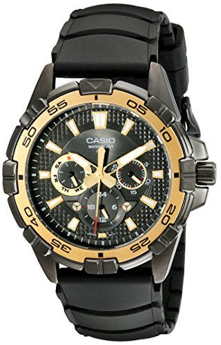 Casio MTD1069B 1A1 Round Analog Black