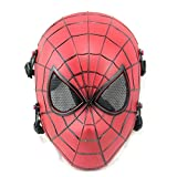 ATAIRSOFT Spiderman Airsoft Tactical Paintball Mesh Full Face Protection Mask Red