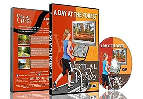 Virtual Walks - A Day At the Forest for Indoor Walking, Treadmill and Cycling Workouts (Virtual Fitness Dvds)