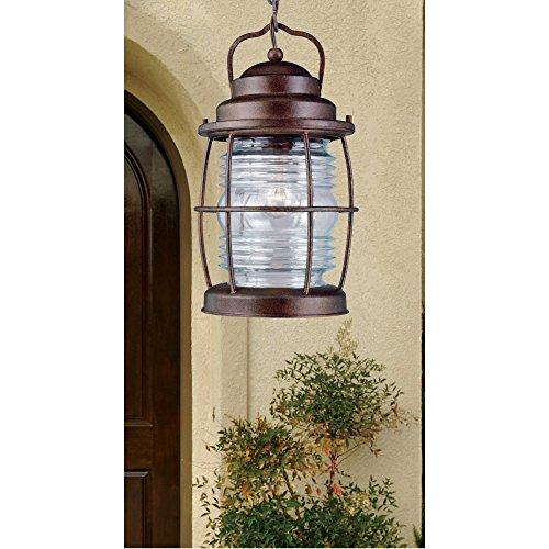 Kenroy Home 90955GC Beacon Hanging Lantern, Gilded Copper