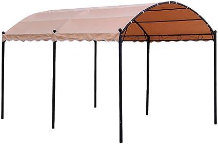 Ldk Garden Pérgola con Estructura de Acero y Cubierta de poliéster ...