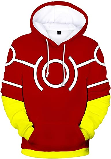My Hero Academia Bakugou Katsuki Sweatshirt Cosplay Unisex Hoodie Jacket Coat