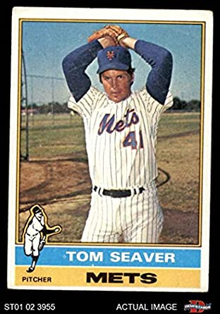 Amazoncom 1976 Topps 600 Tom Seaver New York Mets