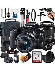 $729 » Canon EOS 250D / Rebel SL3 Digital SLR Camera 24.1MP CMOS Sensor with EF-S 18-55mm Zoom Lens + SanDisk 32GB Card + Tripod + Case + MegaAccessory Bundle (21pc Bundle)