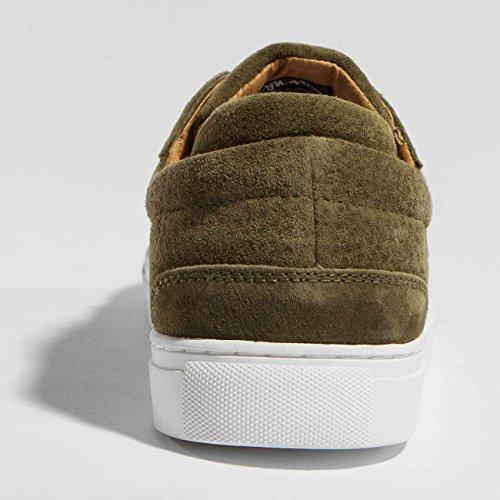 Djinns Uomo Scarpe/Sneaker Awaike Suede Oliva