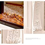 WEIZI-Stufa-elettrica-per-caminetto-intagliata-Decorativa-Mantello-Stufa-Stufa-elettrica-Legna-elettrica-Portatile-Effetto-bruciatore-a-Legna-Scuro