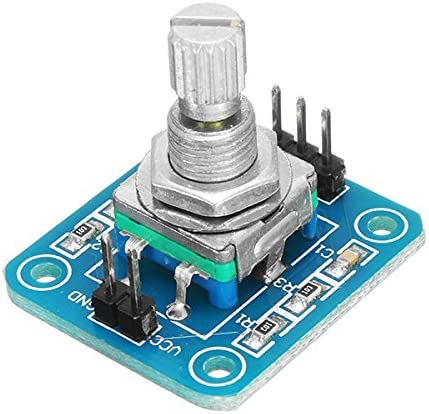 HiLetgo 5pcs 360 Degrees Rotary Encoder Module for Arduino Brick Sensor Switch