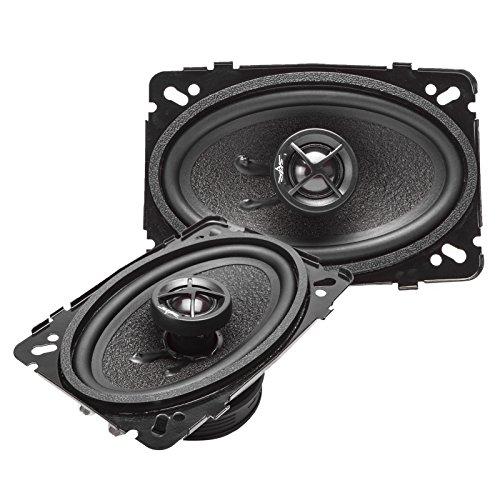 Skar Audio SK46 4-Inch x 6-Inch 2-Way 240 Watt Coaxial Car Speakers - ()