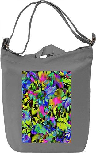 Texture design no. 17 Borsa Giornaliera Canvas Canvas Day Bag| 100% Premium Cotton Canvas| DTG Printing|