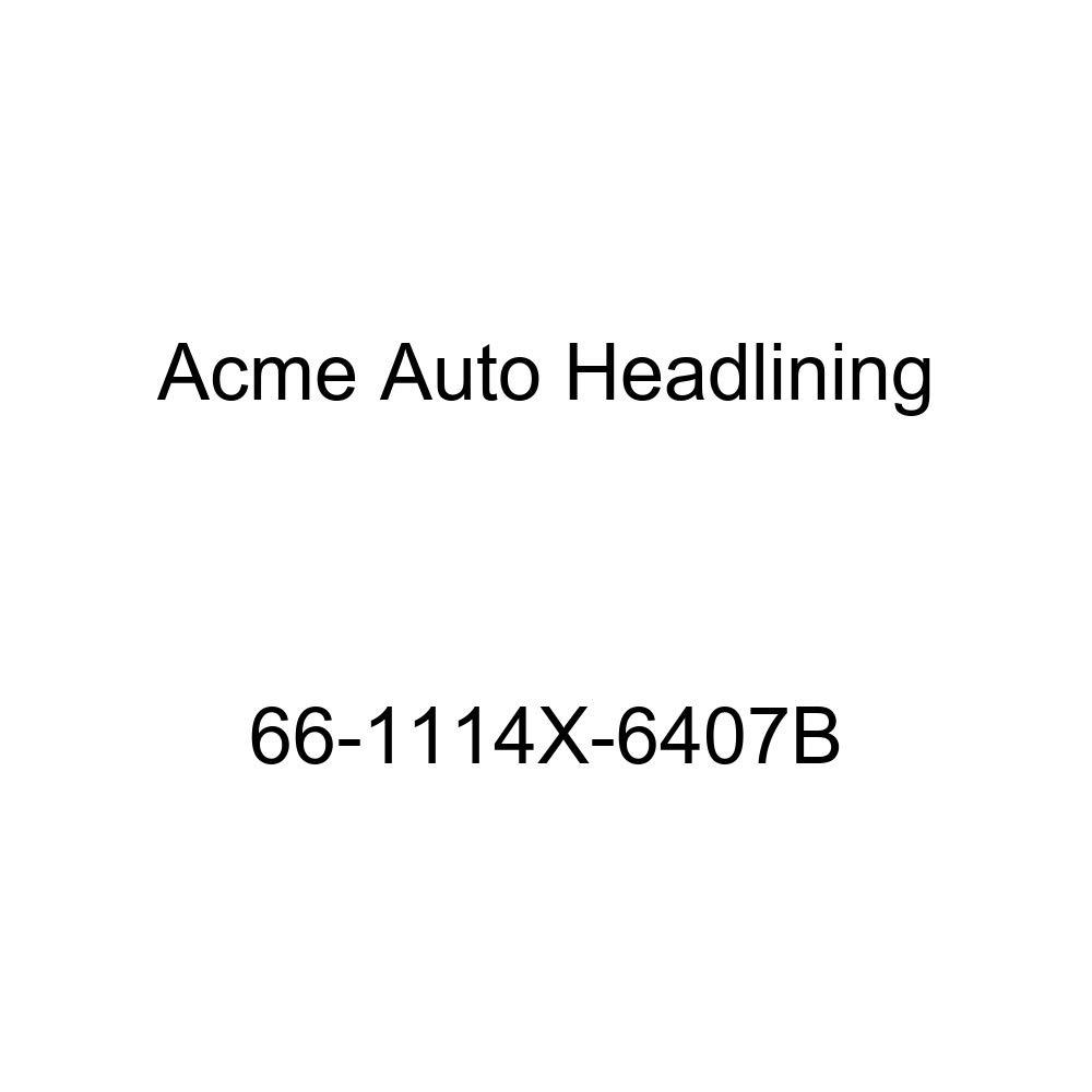 Acme Auto Headlining 66-1114X-6407B Fawn Replacement Headliner Conversion Buick Wildcat 4 Dr Hardtop w//Original Board Headliner