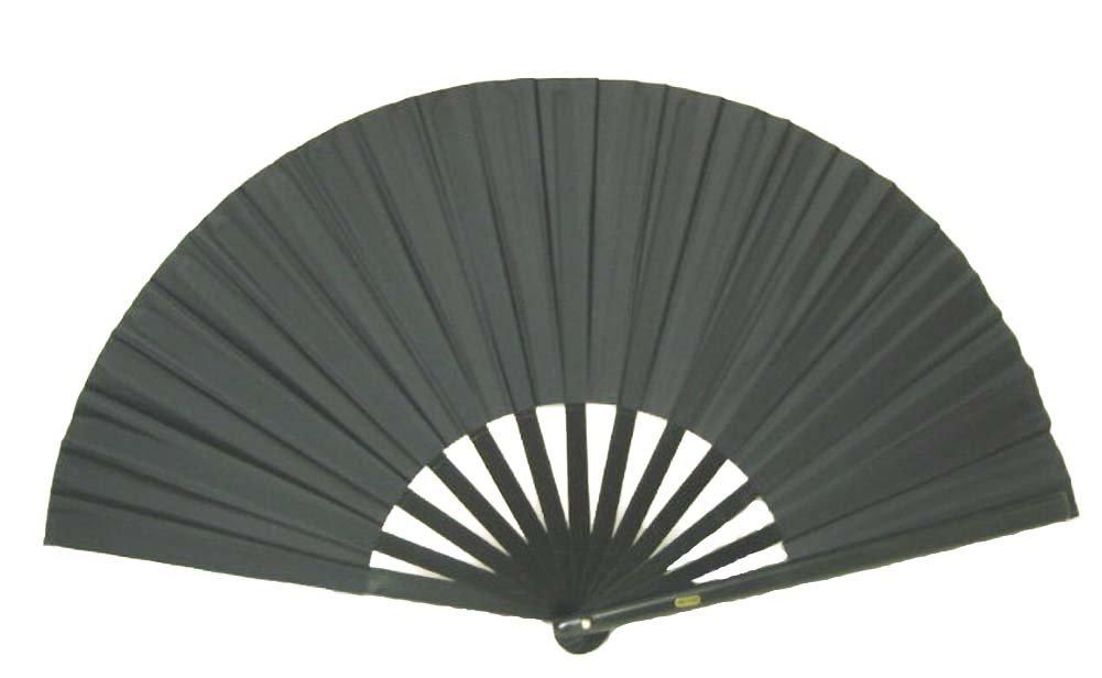 Black Performance Folding Fan #359