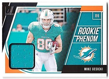 newest afdda eb245 Amazon.com: Mike Gesicki 2018 Donruss Rookie Phenom Jersey ...