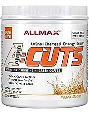 ALLMAX Nutrition - AMINOCUTS (A:CUTS) - Weight-Management BCAA (L-Carnitine + Taurine + Green Coffee) - Peach Mango - 252 Gram - 36 Servings, 252-Gram