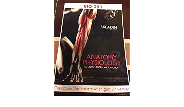 Selected Material From Anatomy Physiology The Unity Of Form And