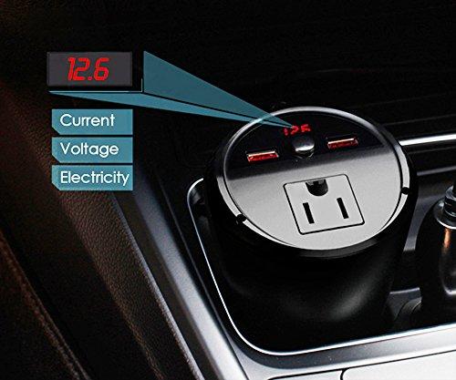 Outlet Adapter By Dorraji 5558978506 Car Power Inverter Laptop Charger 12v DC To 110v AC