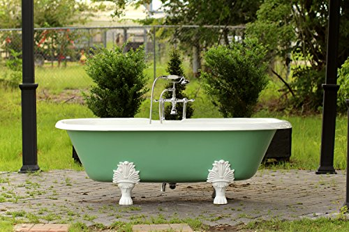 cast iron bathtub clawfoot - 5