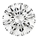 RINGJEWEL 1.76 ct 7.76 MM VS2 Round Cut Loose Real Moissanite Use 4 Pendant/Ring Genuine White J-K Color Stone
