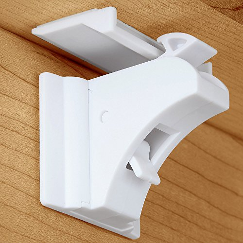 Magnetic Cabinet Locks, Baby Proofing Cabinets Locks, Cabinet Locks Child Safety, Child Safety Locks (4 Locks + 1 Key)