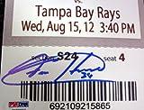 Felix Hernandez Signed Mini Mega Ticket Seattle Mariners - PSA/DNA Authentication - Autographed MLB Baseball Tickets