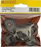 Centurion FA18P Roofing Washers 30mm Black (Pack of 10), Various