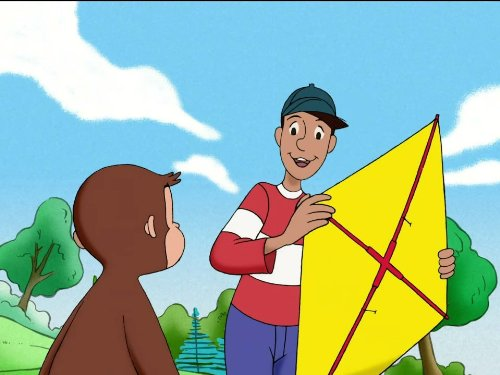 Curious George Flies A Kite/From