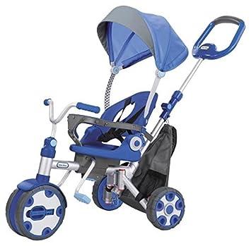 Little Tikes Fold N Go 4 In 1 Trike Blue Grey