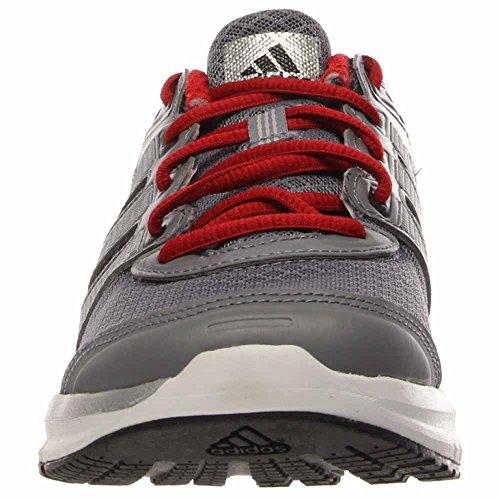 Adidas Mannen Duramo 6 Loopschoenen Kern Zwart / Grijs / Scharlaken