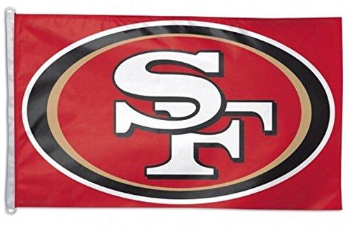 WinCraft NFL San Francisco 49ers Flag, 3 x - San Francisco 49ers Flag