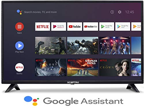 Sceptre Android TV A515CV-UMC 50-inch 4K UHD Smart LED HD TV Google Assistant Chromecast Bluetooth Remote HDR 3840×2160…