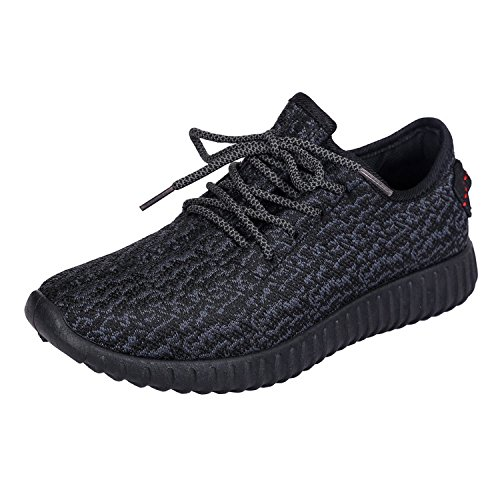 Women fashion breathable woven sneakers sport and casual shoes - 4