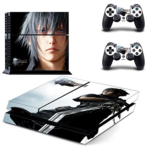 golden-new-release-final-fantasy-xv-15-ps4-vinyl-video-game-skin-sticker-for-playstation-4-console-2
