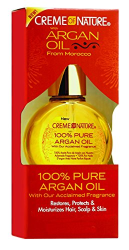 (Creme of Nature 100% Pure Argan Oil, 1 Ounce)