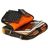 Orange Messenger Bag for Business/Travel/College