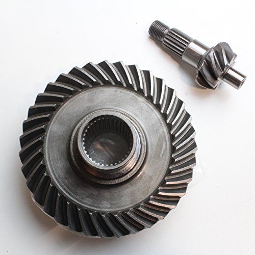Rear Differential Ring And Pinion Gear 1988-2000 Honda Fourtrax TRX300 TRX300FW 2x4 4x4 (Gear Ring Pinion)