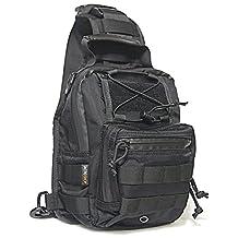 TacticShop Concealed Carry Pistol Bag Side Shoulder Shadow Sling Bagpack for CCW