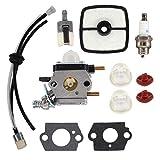 USPEEDA Carburetor for Echo Mantis Tiller Cultivator SV-4BH SV-4B LHD-1700 HC-1500 Carb
