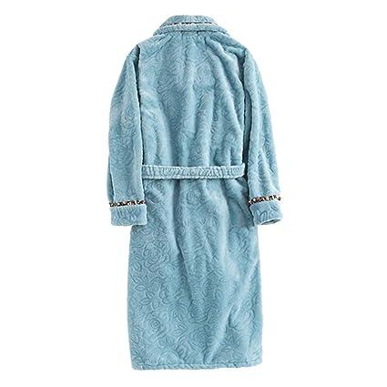 MERRYHE Las Señoras Franela Albornoces Bata Suave Ropa De Dormir De Las Mujeres Kimonos Pijama Gimnasio