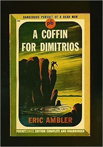 A COFFIN FOR DIMITRIOS EPUB DOWNLOAD