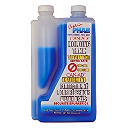 Can-AD Holding Tank Treatment, 00367, 32oz 1L - Eliminates All Foul Odours