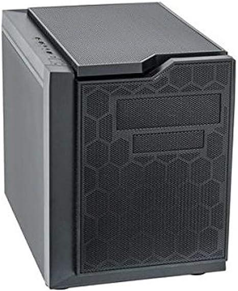 Chieftec CI-01B-OP Carcasa de Ordenador Cubo Negro - Caja de Ordenador (Cubo, PC, SECC, Negro, Micro ATX, 15 cm): Amazon.es: Informática