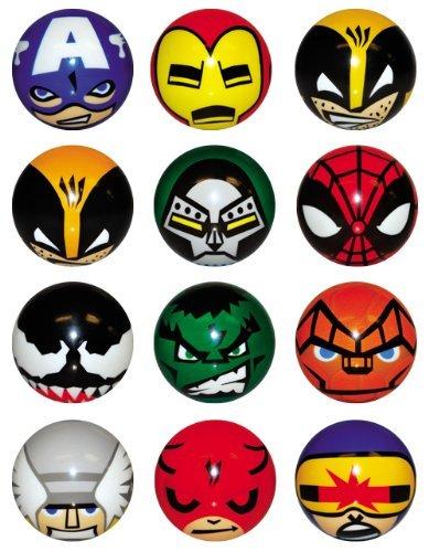 Marvel Heroes Foam Balls - set of 12 -